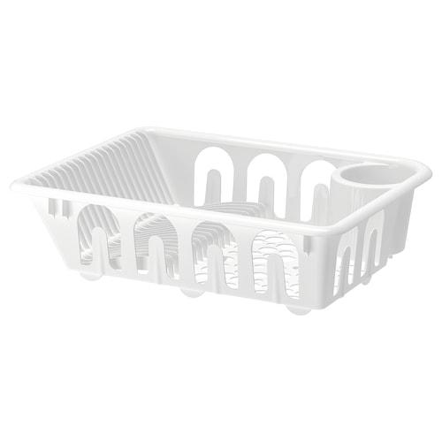 FLUNDRA dish drainer white 46 cm 36 cm 12 cm