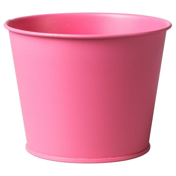 FÖRSOMMAR plant pot pink 9 cm 11 cm 9 cm 9 cm