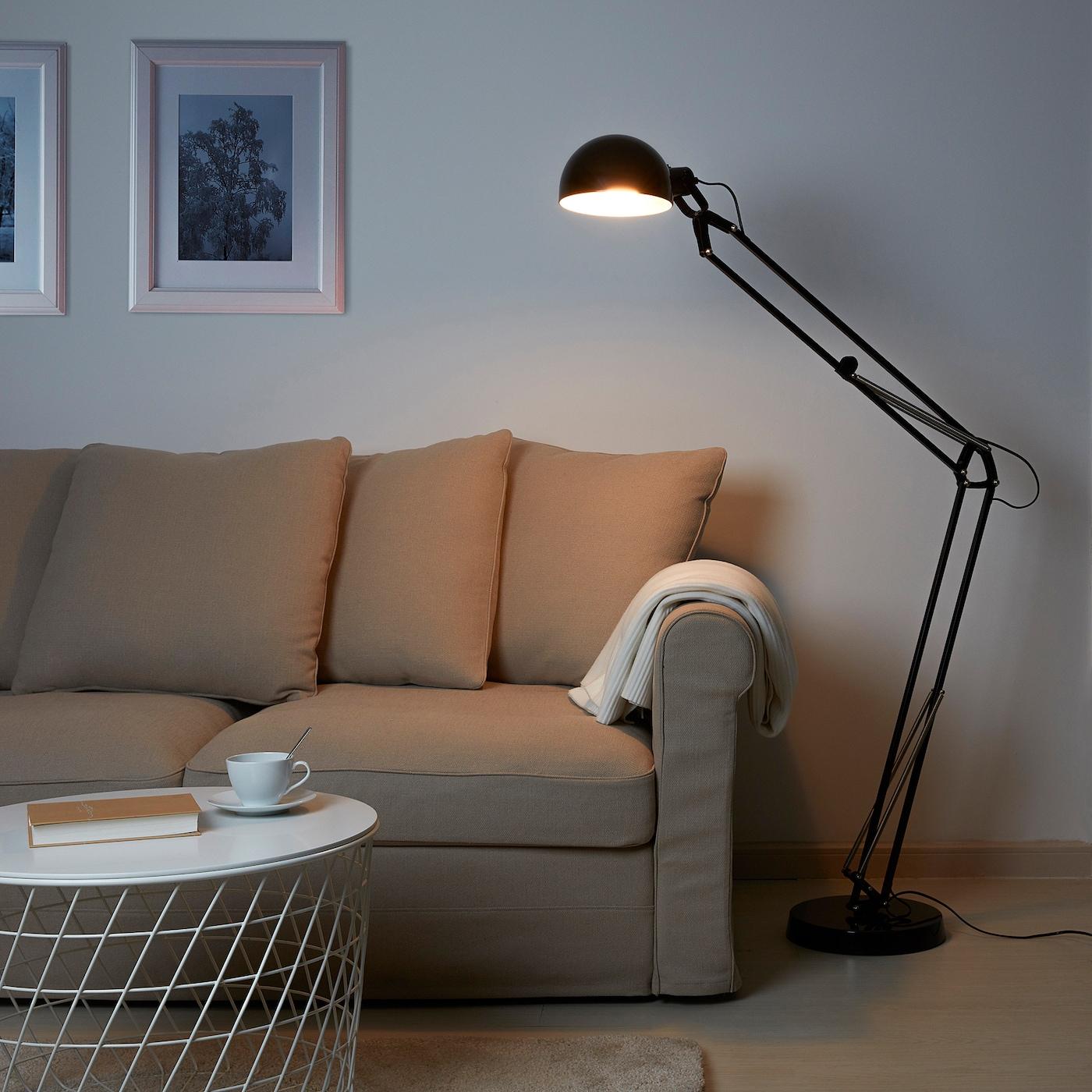 ForsÅ Floor Lamp Black Ikea