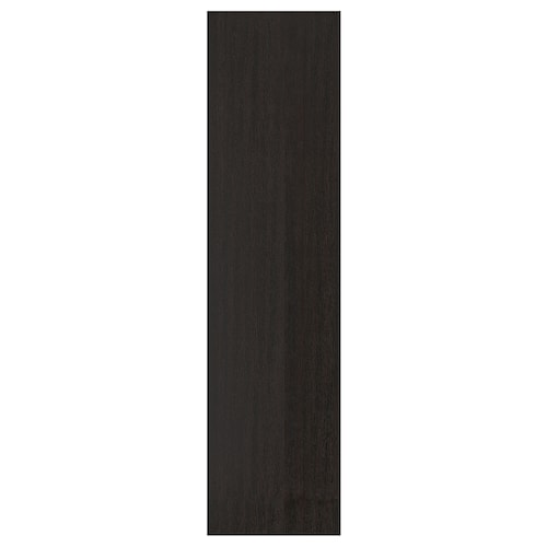 FORSAND door black-brown stained ash effect 49.5 cm 194.6 cm 201.2 cm 1.8 cm
