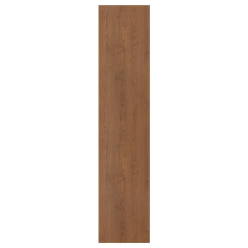 FORSAND door brown stained ash effect 49.5 cm 229.4 cm 236.4 cm 1.8 cm