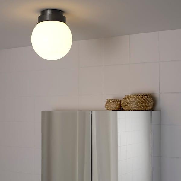 FRIHULT Ceiling/wall lamp, black