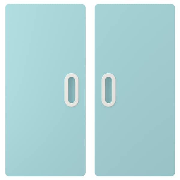FRITIDS Door, light blue, 60x64 cm 2 pack
