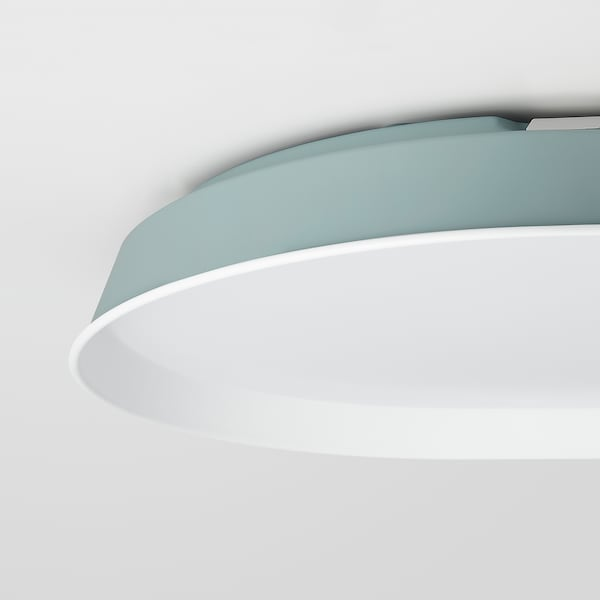 FROSTDIMMA LED ceiling lamp w remote control, rounded/dimmable