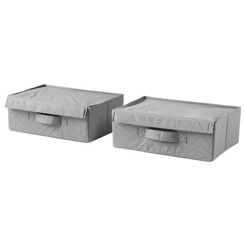 FULLSMOCKAD shoe box 36 cm 26 cm 13 cm 2 pack