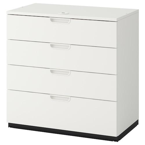 GALANT drawer unit white 80 cm 45 cm 80 cm