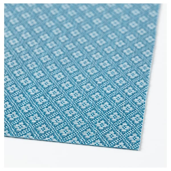 GALLRA place mat blue/patterned 45 cm 33 cm