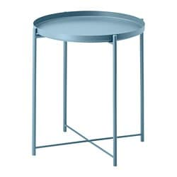 GLADOM tray table, blue
