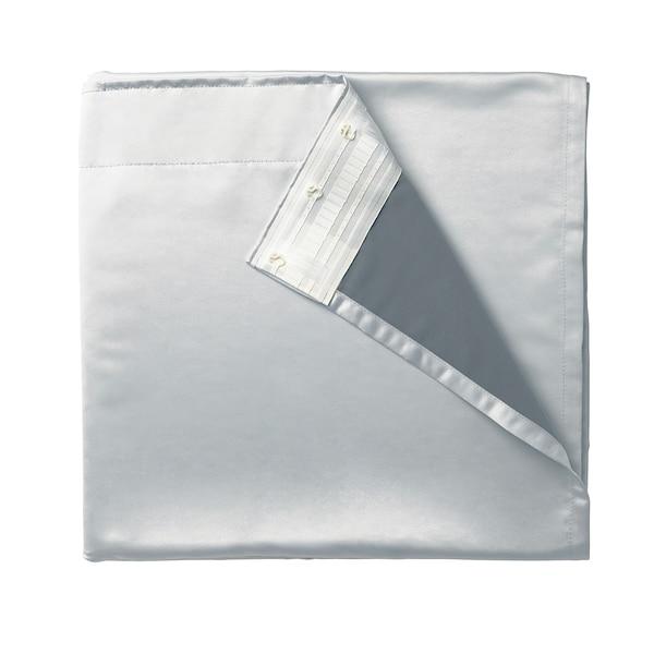 GLANSNÄVA curtain liners, 1 pair light grey 240 cm 143 cm 1.50 kg 3.43 m² 2 pack