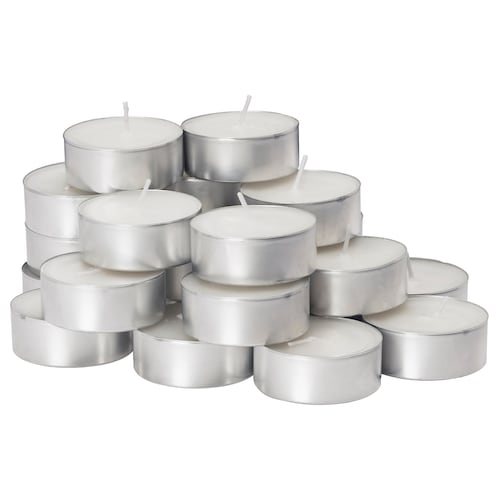 GLIMMA unscented tealight 38 mm 4 hr 24 pack