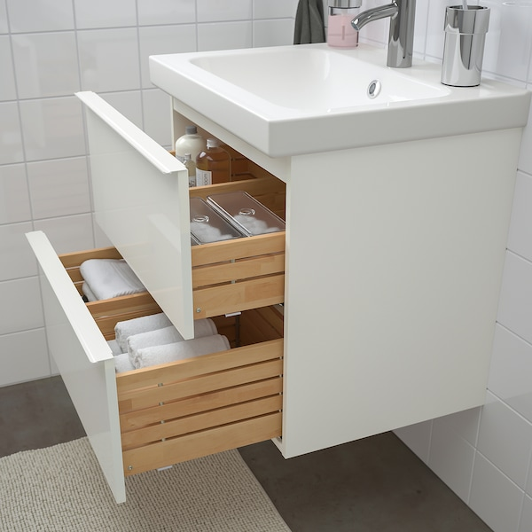 IKEA GODMORGON / ODENSVIK Bathroom furniture, set of 4