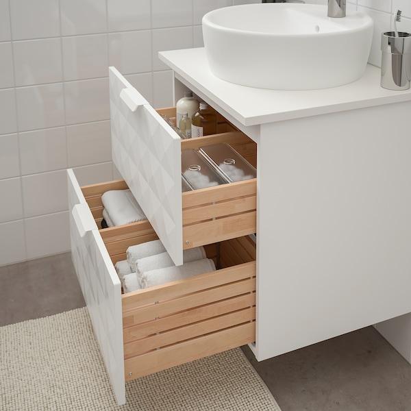 IKEA GODMORGON/TOLKEN / TÖRNVIKEN Wsh-stnd w countertop 45 wsh-basin