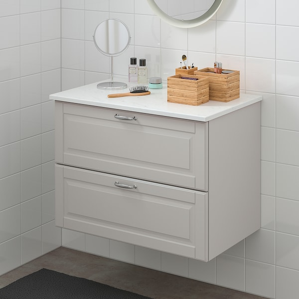 IKEA GODMORGON / TOLKEN Wash-stand with 2 drawers