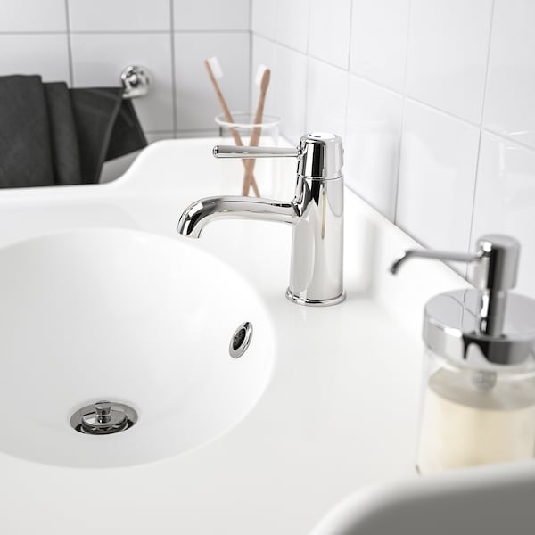 GRANSKÄR wash-basin mixer tap with strainer chrome-plated 16 cm