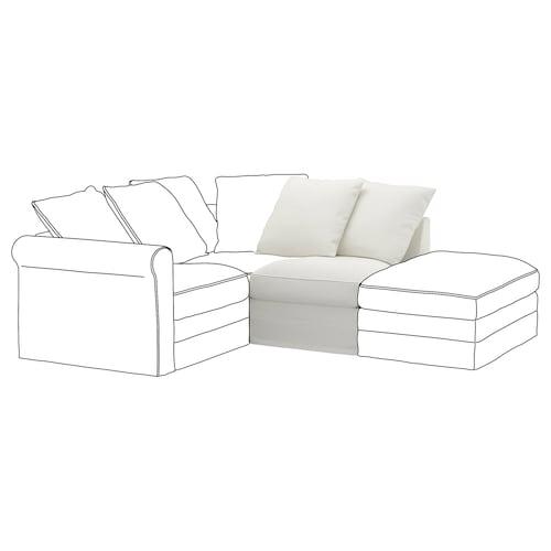 GRÖNLID 1-seat section Gräsbo white 104 cm 68 cm 71 cm 98 cm 7 cm 70 cm 60 cm 49 cm