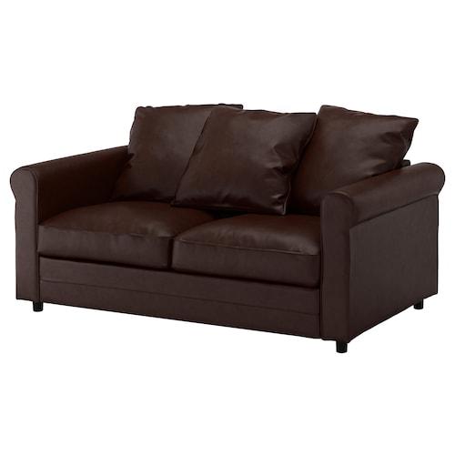 GRÖNLID 2-seat sofa Kimstad dark brown 104 cm 177 cm 98 cm 7 cm 18 cm 68 cm 141 cm 60 cm 49 cm