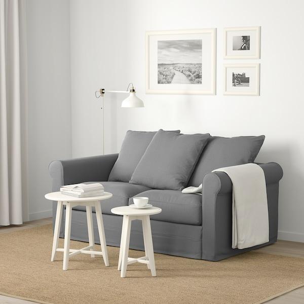 GRÖNLID 2-seat sofa Ljungen medium grey 104 cm 177 cm 98 cm 7 cm 18 cm 68 cm 141 cm 60 cm 49 cm