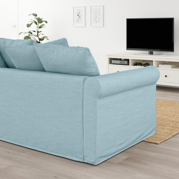 GRÖNLID 2-seat sofa Hillared light blue 104 cm 177 cm 98 cm 7 cm 18 cm 68 cm 141 cm 60 cm 49 cm