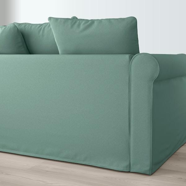 GRÖNLID 3-seat sofa, Ljungen light green