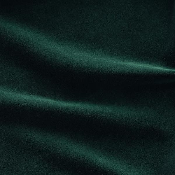 GRÖNLID Corner sofa, 5-seat, with chaise longue/Djuparp dark green