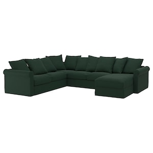 Cover: With chaise longue/tallmyra dark green.