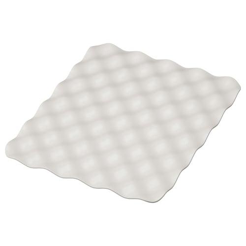 GRUNDVATTNET mat grey 32 cm 26 cm 1 cm