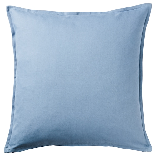 GURLI Cushion cover, light blue, 50x50 cm