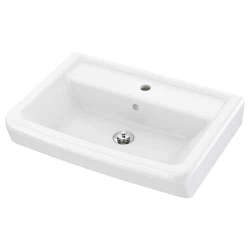 HAMNVIKEN single wash-basin 63 cm 60 cm 45 cm 11 cm 11 cm