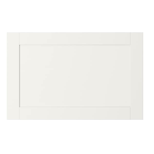 HANVIKEN Door/drawer front, white, 60x38 cm
