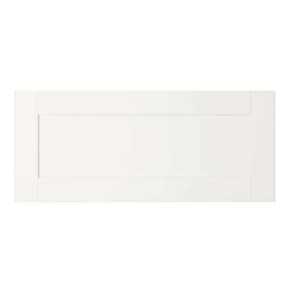 HANVIKEN Drawer front, white, 60x26 cm