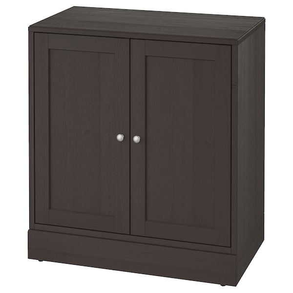 HAVSTA cabinet with plinth dark brown 81 cm 47 cm 89 cm 31 kg