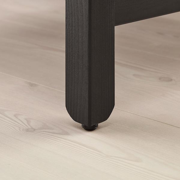 HAVSTA console table dark brown 100 cm 35 cm 63 cm