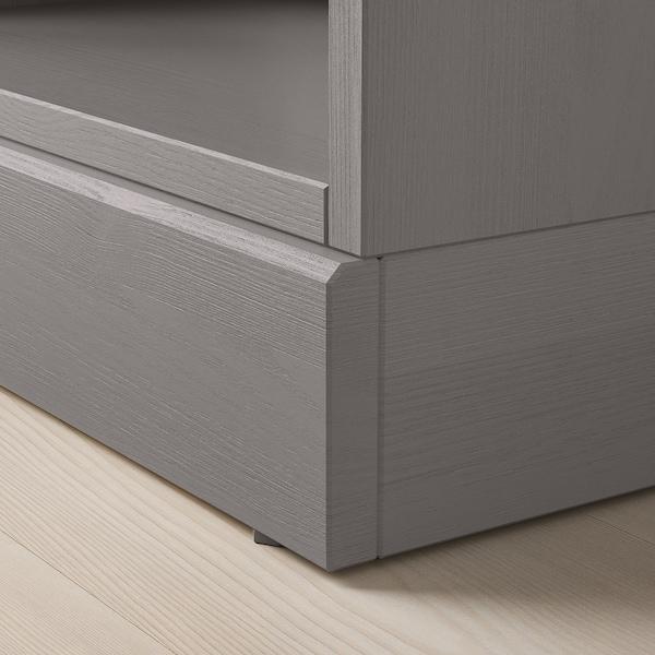 HAVSTA shelving unit with plinth grey 61 cm 37 cm 212 cm 20 kg