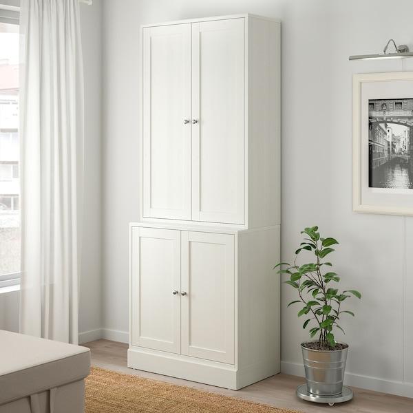 HAVSTA storage combination with doors white 81 cm 47 cm 212 cm 23 kg