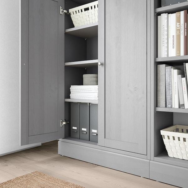 HAVSTA storage combination grey 162 cm 37 cm 134 cm 23 kg
