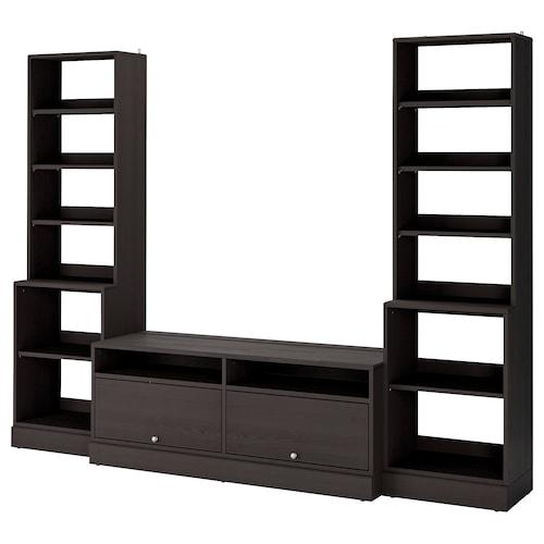HAVSTA TV storage combination dark brown 282 cm 47 cm 212 cm 20 kg