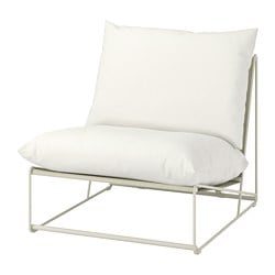 HAVSTEN easy chair, in/outdoor, beige
