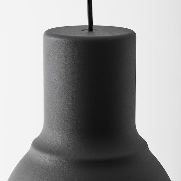 HEKTAR pendant lamp dark grey 22 W 22 cm 26 cm 160 cm