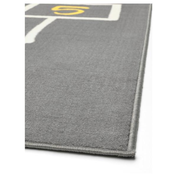HEMMAHOS play mat grey 160 cm 100 cm 1.60 m²
