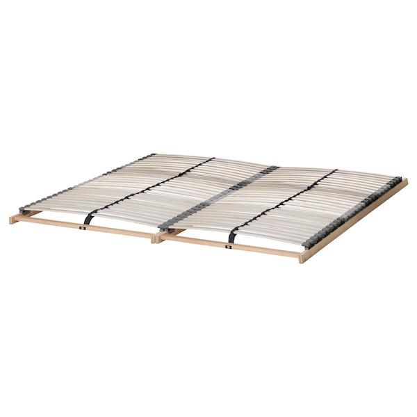 HEMNES bed frame black-brown/Lönset 211 cm 167 cm 66 cm 120 cm 200 cm 150 cm