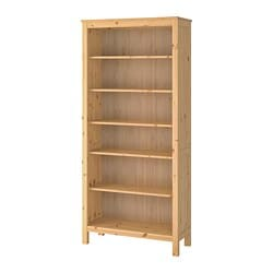 HEMNES bookcase, light brown