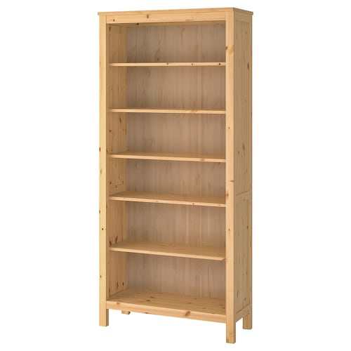 HEMNES bookcase light brown 90 cm 37 cm 198 cm 30 kg