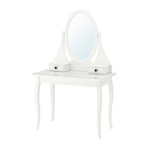 HEMNES Dressing table with mirror