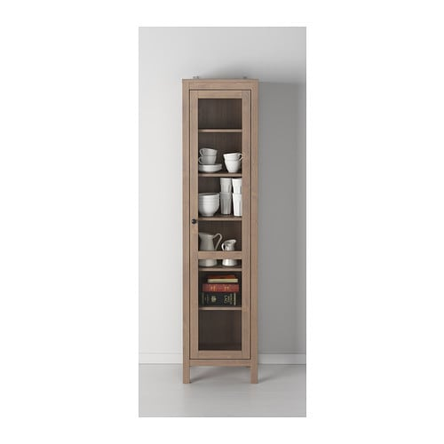 Ikea Schreibtisch Kombination ~ Hemnes Glass Door Cabinet With 3 Drawers Ikea Solid Wood Has A Natural