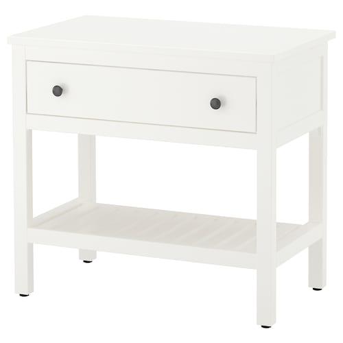 HEMNES open wash-stand with 1 drawer white 82 cm 48 cm 76 cm