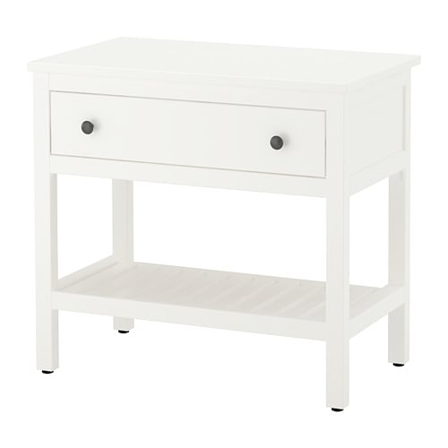 HEMNES Open wash-stand with 1 drawer