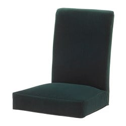 HENRIKSDAL chair cover, Djuparp dark green