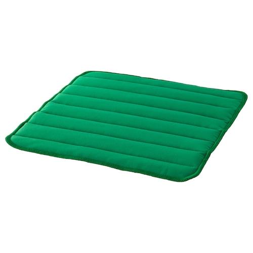 HERDIS chair pad bright green 37 cm 37 cm 1.8 cm 135 g