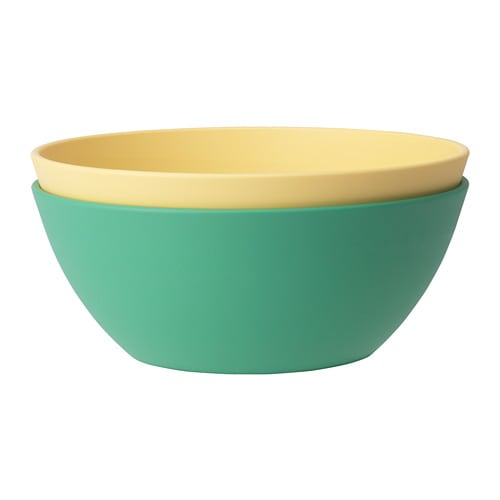 HEROISK Bowl IKEA Colourful, impact resistant and grip-friendly.