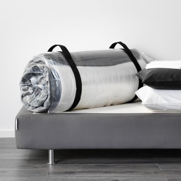 HÖVÅG pocket sprung mattress firm/dark grey 200 cm 120 cm 24 cm